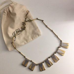 Jcrew Triangle/Rectangle Geometric Necklace